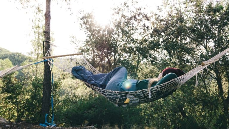 Can You Sleep on Your Side in a Hammock Image