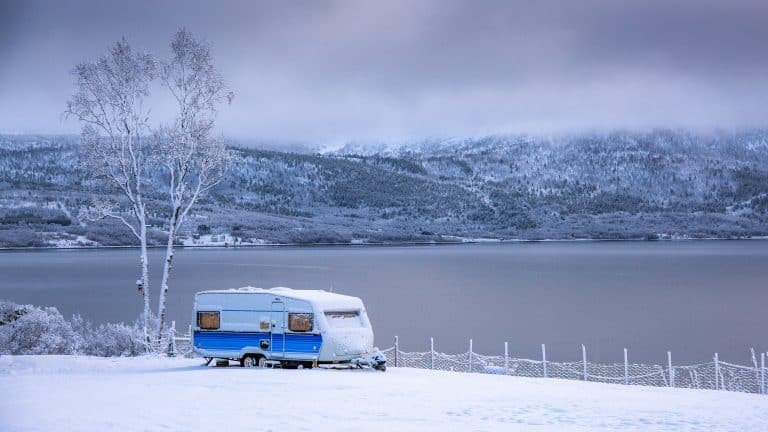 Comfortable Camper Living Tips in a Cold Winter