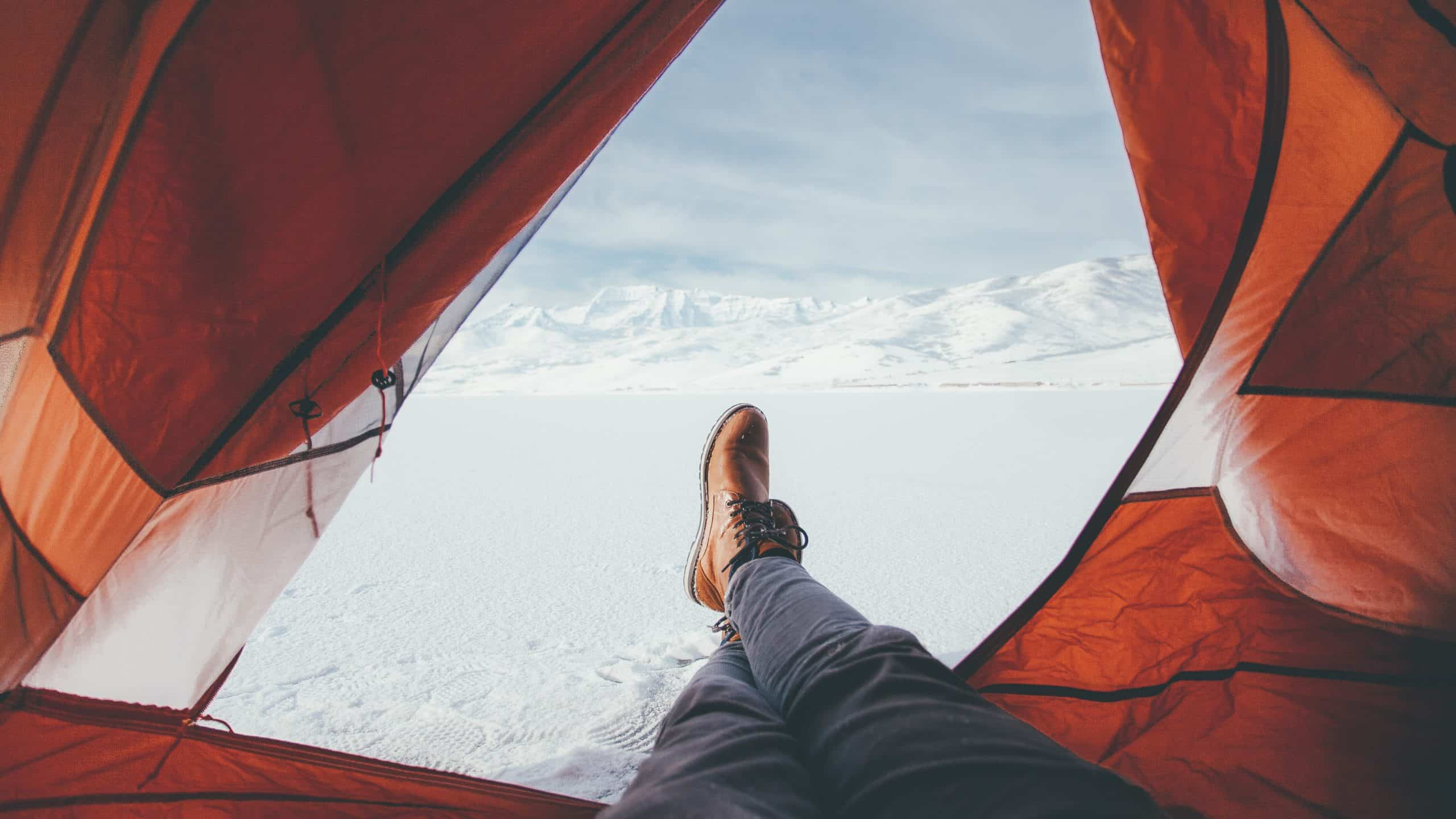 How to Stay Warm in a Tent While Camping or Hiking