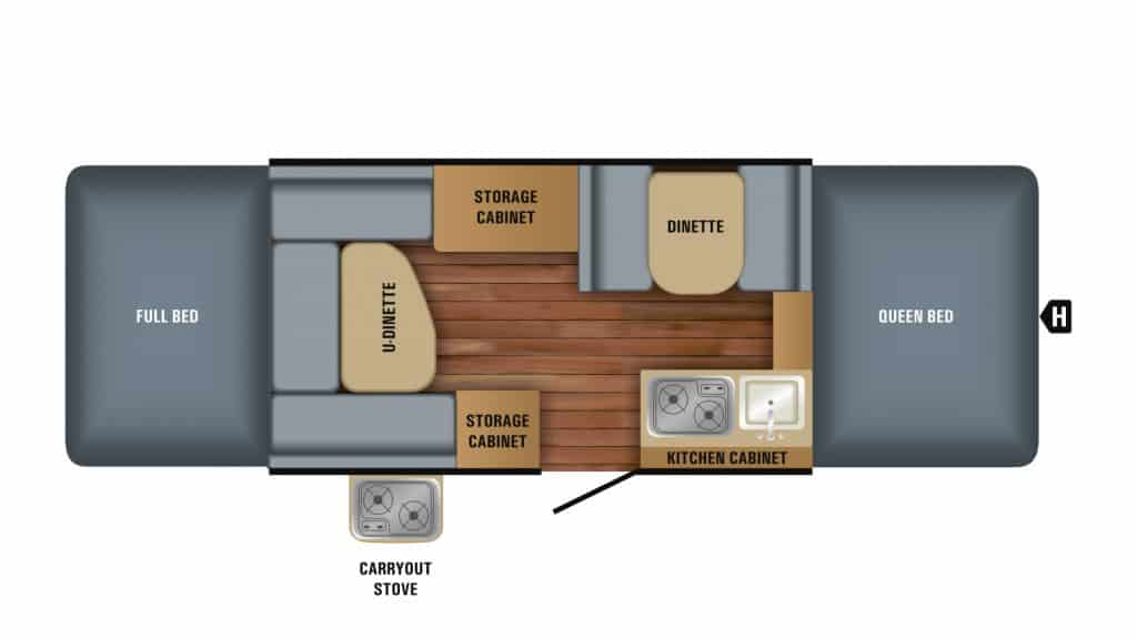 Jayco Jay Sport 12UD Structure
