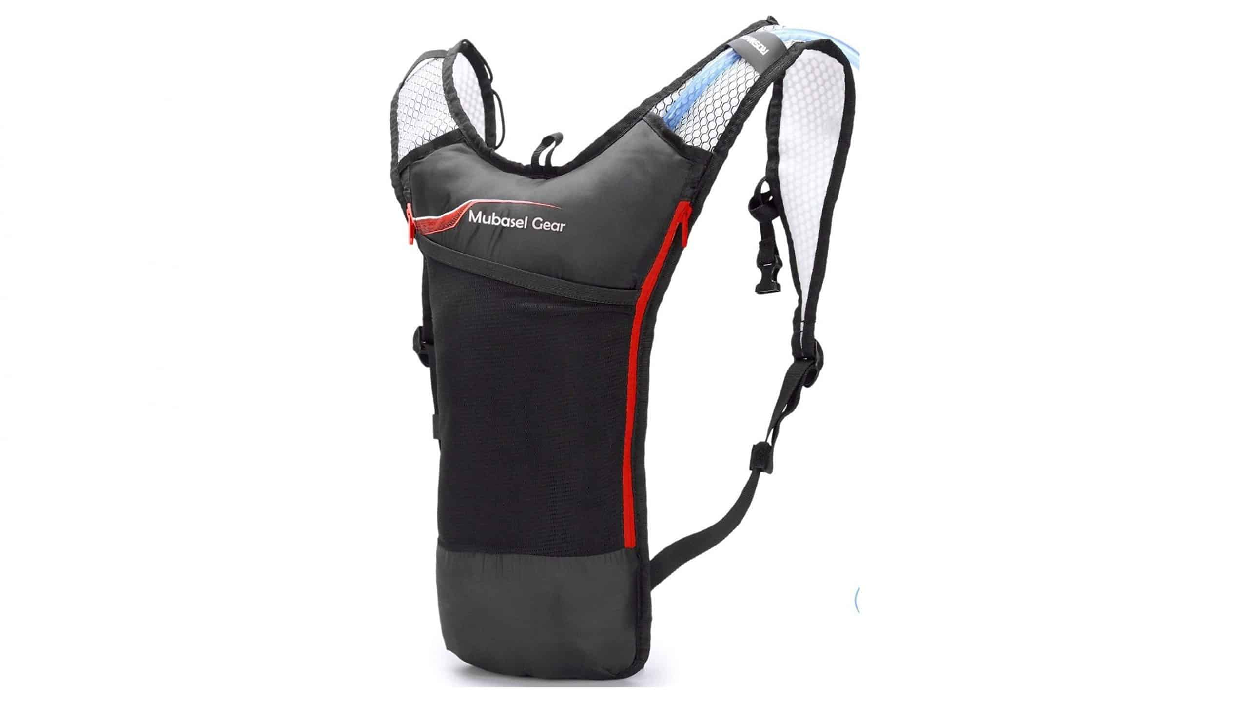 Mubasel Gear Hydration Backpack Pack with 2L BPA Free Bladder