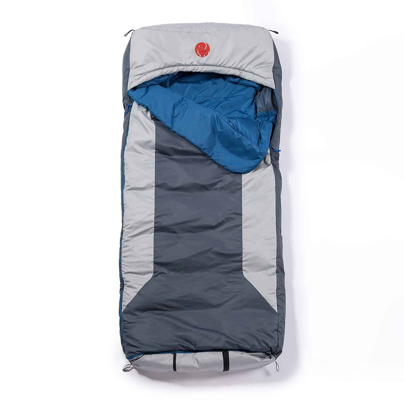 OmniCore Designs Multi Down Hooded Rectangular Sleeping Bag