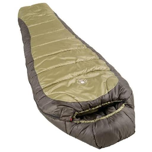 coleman north rim 0 degree mummy bag